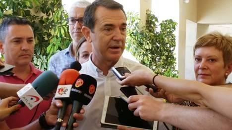 """Pérez Navas agradece a Ciudadanos su """"generosidad y coherencia"""" y gobernará """"para todos los almerienses"""""""