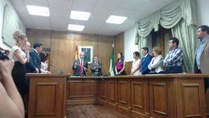 """El socialista Francisco Giménez promete trabajar """"con transparencia y para todos los dalienses"""" en su primer discurso como alcalde"""