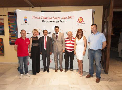 Roquetas entrega su V Premio Taurino a los novilleros colombianos que permanecieron en huelga de hambre
