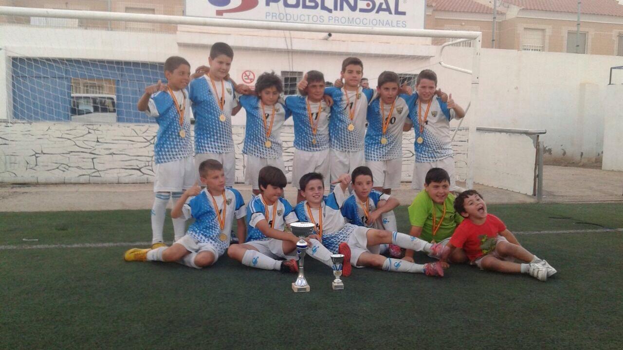 El fútbol base de Albox triunfa y se proclama flamante campeón en el IV Torneo 'Villa de Pulpí'