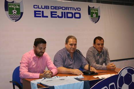 Javi Fernández- Alberto González, ambición para un CD El Ejido 2012 humilde y competitivo