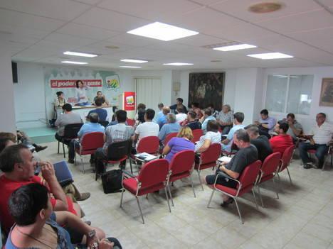 El concejal de IU en Roquetas, Juan Pablo Yakubiuk, repite como diputado provincial