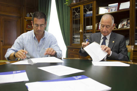 Diputación invierte 72.000 euros en un almacén municipal de Santa Cruz de Marchena
