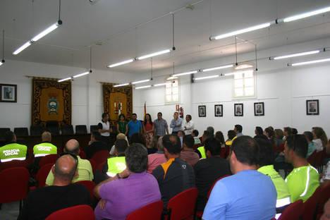 El alcalde de Carboneras presenta el nuevo equipo de Gobierno