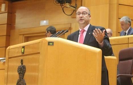 """Luis Rogelio afirma en el Senado que """"los propietarios con sentencia de derribo serán indemnizados antes de perder sus casas"""""""