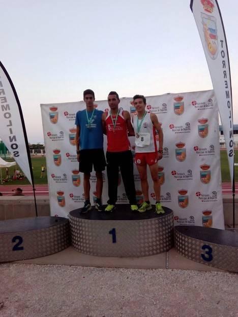 Benkhaleq, campeón de Andalucía y cuarto de España de 2.000 metros obstáculos