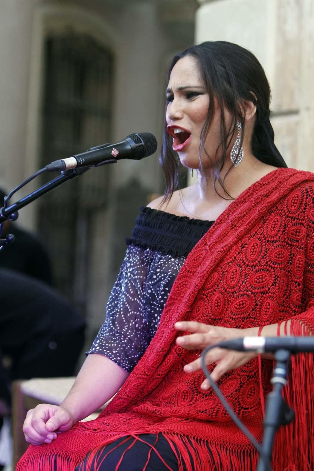 El cante de Toñi Fernández cierra el jueves 'Plazeando II' en Plaza Careaga