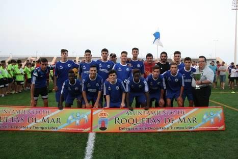 La I Cup Costa de Almería inunda de fútbol el verano de Roquetas de Mar