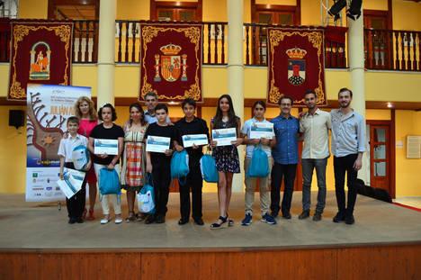 Los participantes de la modalidad infantil del 'Julián Arcas' provienen de Rusia, Salamanca, Barcelona, Jaén y Málaga