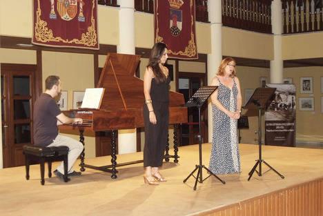 El concierto de los alumnos del Festival 'Mare Musicum' llenó el Castillo de Santa Ana