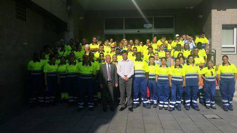 93 trabajadores se han incorporado al programa de inclusión social del Ayuntamiento de Roquetas de la Unión Europea