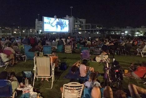 Cine de verano en Almerimar y Balerma