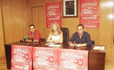Red House, Mingo Balaguer, Pink Suede y The Flamin Indalo Rockin Suitcase actuarán en el Festival Almeriblues