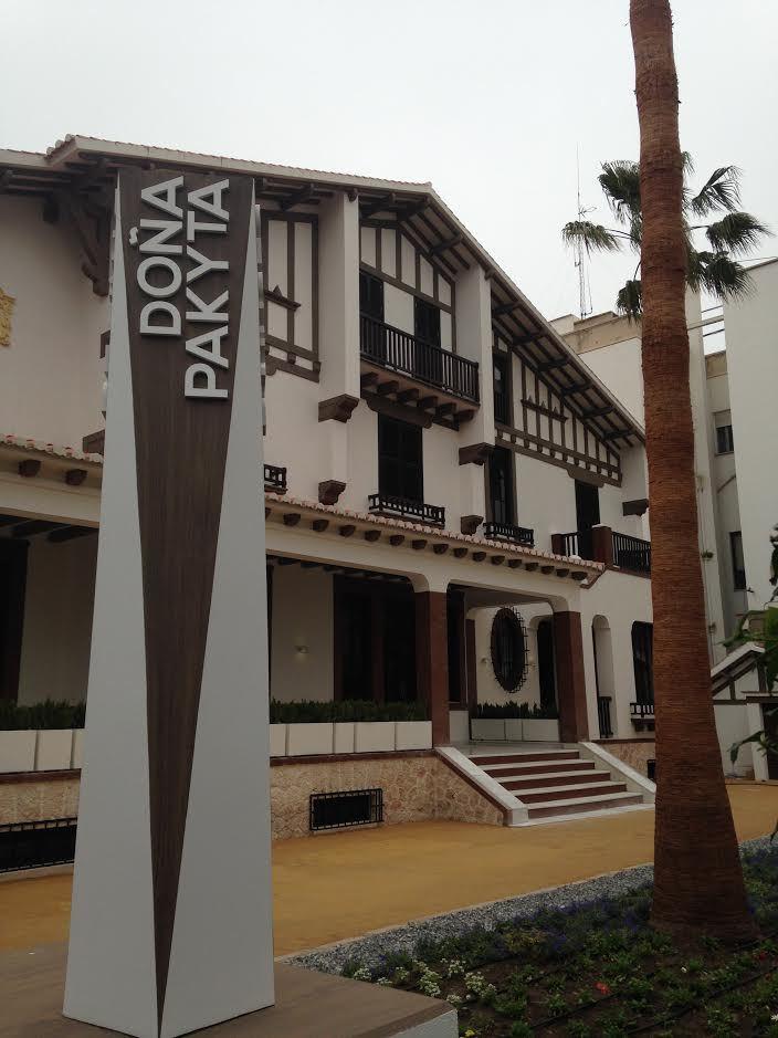 Las visitas guiadas de la capital estrenan la ruta 'Almería Burguesa. Museo de Doña Pakyta'