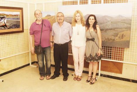 Los tres artistas conforman la Asociación Cultural Atelier de Mar