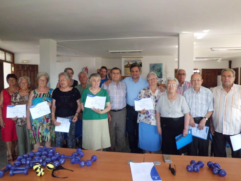 Diputación clausura los talleres de envejecimiento activo de Beires, Ohanes y Almócita
