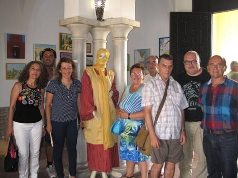 Artistas usuarios de los recursos de FAISEM conmemoran el Milenio de Almería con una exposición de sus trabajos en la Alcazaba