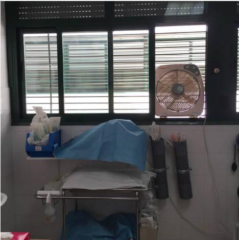 Los Centros de Salud del Poniente sin aire acondicionado