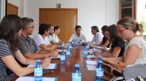 Primer encuentro de la Asociación de Promotores del Poniente tras la configuración de las nuevas corporaciones municipales