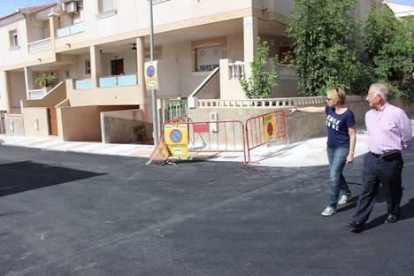 Culminada la mejora de cuatro calles en El Parador