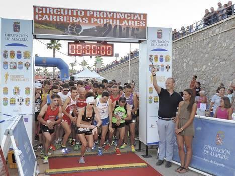 El Circuito Provincial de Carreras Populares triunfa en Villaricos y ya mira a Antas