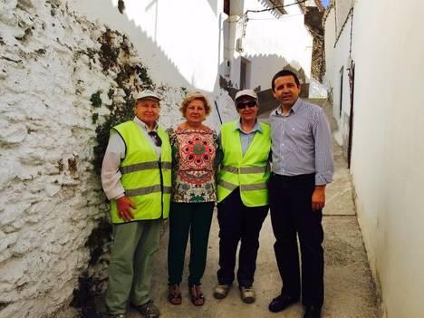 El PFEA crea empleo y mejora los espacios públicos de Laroya con más de 35.000 euros