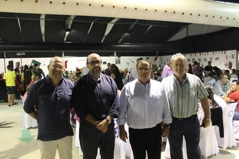 CSIF reúne a más de 300 personas en su noche grande de la Feria de Almería