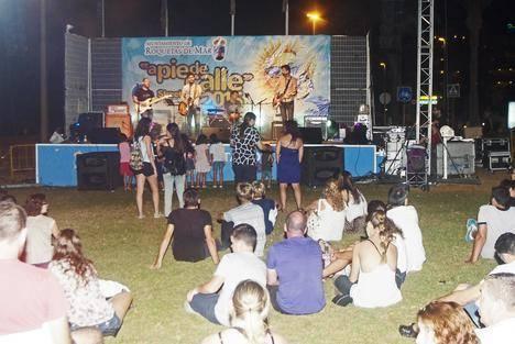 La Urbanización vivió una jornada intensa con la fiesta de verano y el concierto de Los Honks