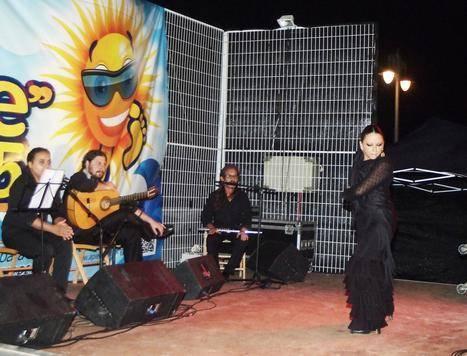 Gran espectáculo de baile de Cristina Muelas y su grupo en Aguadulce