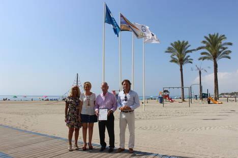 Las nueve playas roqueteras reciben una vez más el certificado ISO 9001