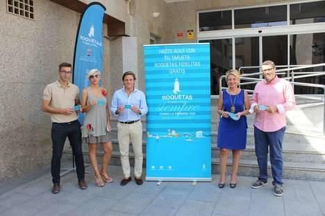Las asociaciones de comerciantes ACER y Juan Carlos I, unidas en apoyo de la iniciativa Roquetas Fidelitas