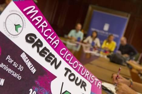La Diputación Provincial colabora con la Marcha Cicloturista Green Tour Koppert