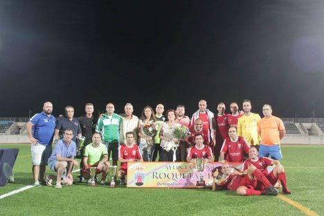 El fútbol roquetero rinde tributo a la memoria de Juan Antonio Martínez Fuentes