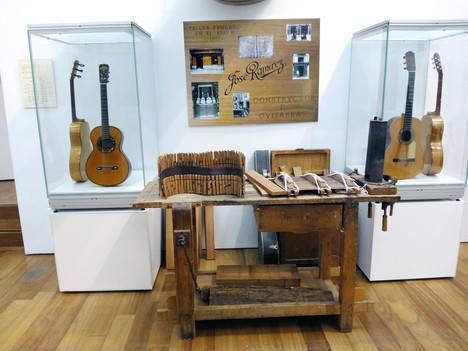 El Museo de la Guitarra acoge una exposición sobre la familia Ramírez hasta el 15 de octubre