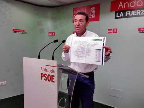 El PSOE reclama actuaciones inmediatas en el tren Almería-Madrid para reducir el tiempo de viaje en 1 hora y 45 minutos