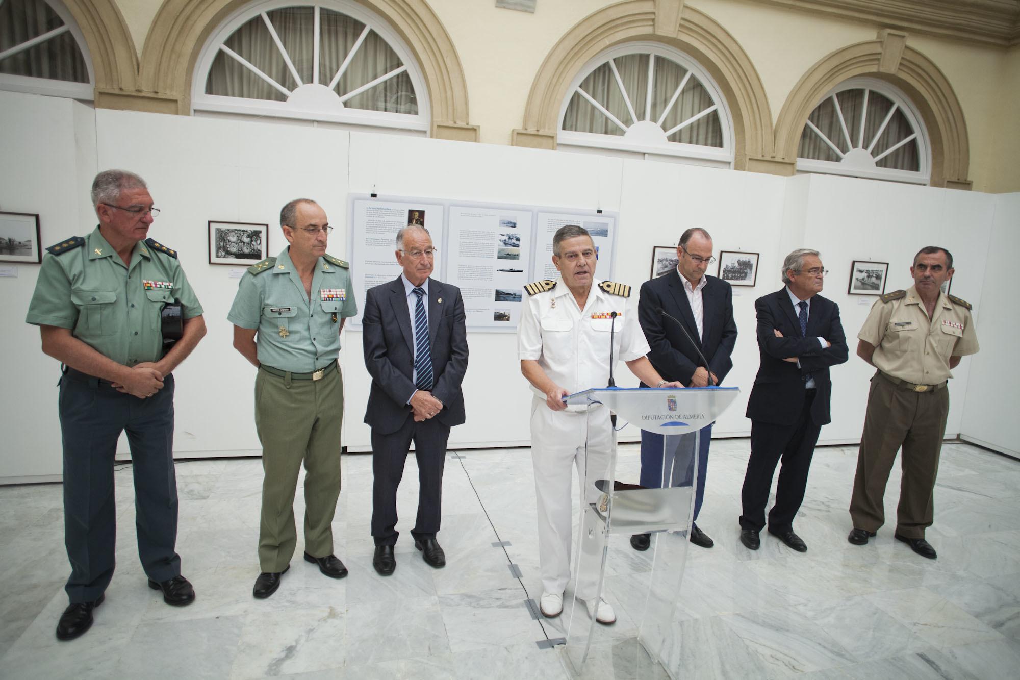 Diputación y Comandancia Naval celebran los 100 Años del 'Arma Submarina' con una muestra