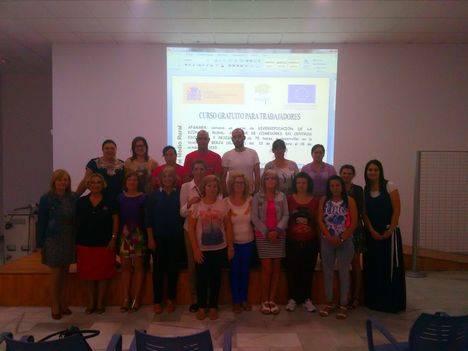 Inaugurado un curso de auxiliar de comedores escolares y residencias en Berja