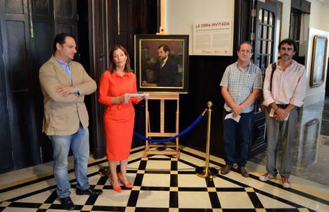Un cuadro no catalogado de Zuloaga inaugura el espacio 'la obra invitada' en el Museo de Arte Doña Pakyta
