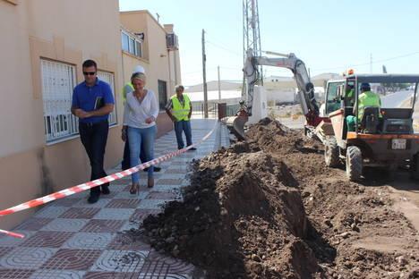 Comienzan las obras de remodelación del barrio de Las Losas de Roquetas