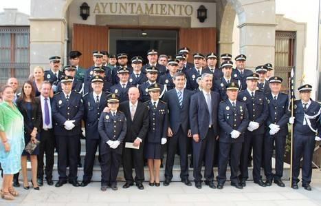 La Policía Local de Adra conmemora los Santos Ángeles Custodios