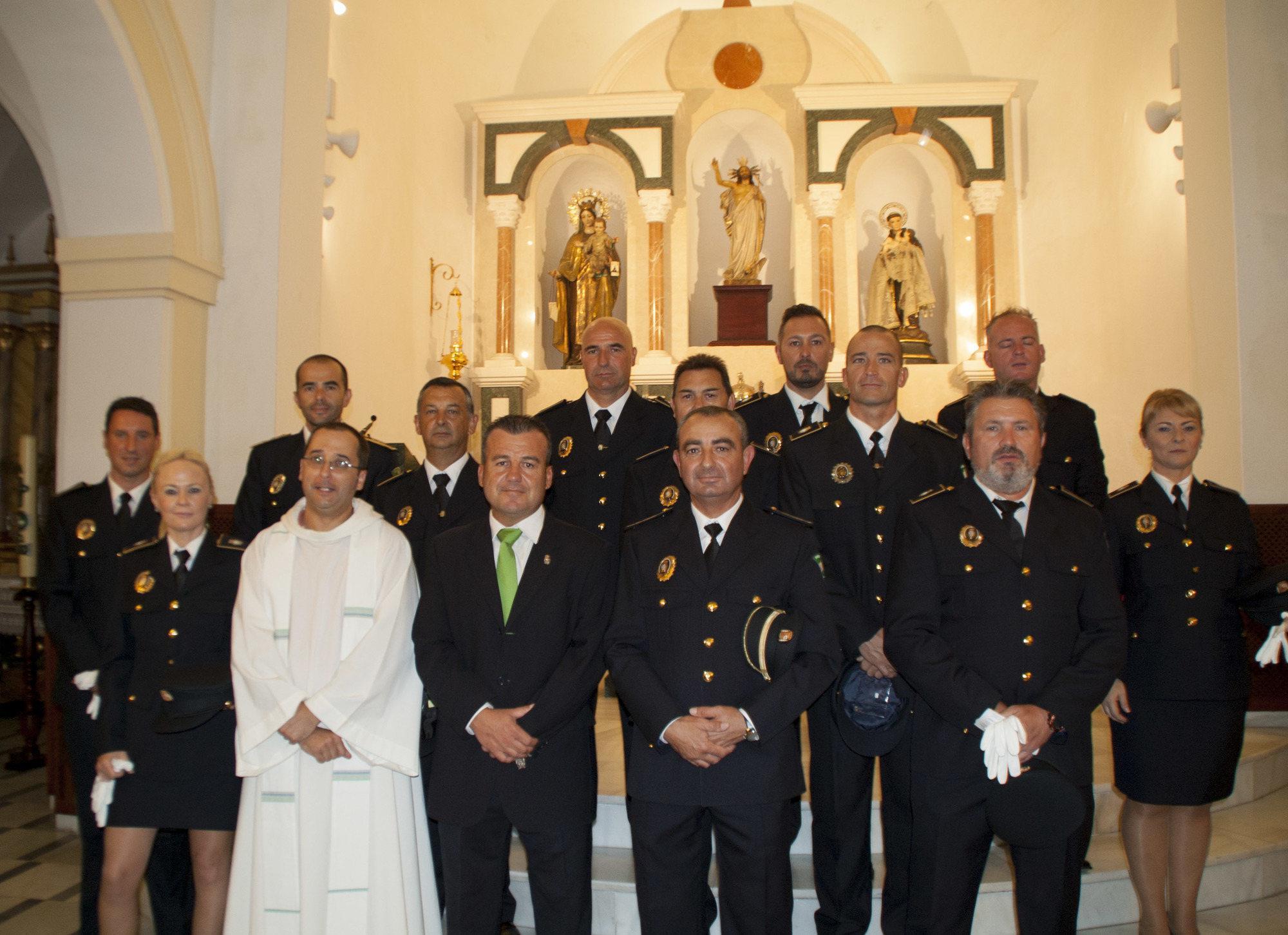 La Policía Local de Carboneras celebró el día de su patrón con actos y reconocimientos