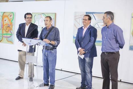 Diputación acoge la exposición de pintura 'Selección Íntima' de Rafael Gadea