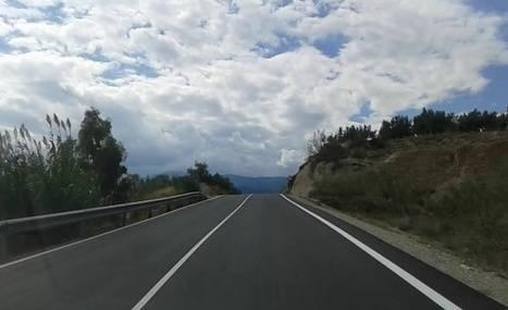 Diputación culmina las obras de mejora en la carretera entre Lúcar y Tíjola