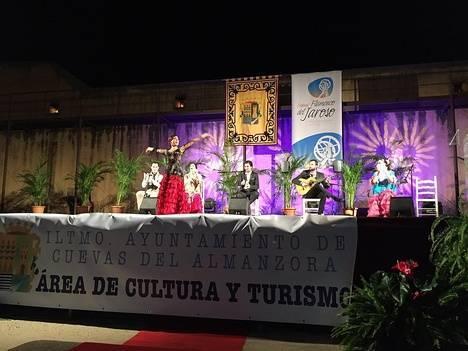 Cuevas vibra con el Festival Flamenco del Jaroso