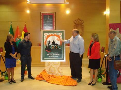 Gádor presenta el cartel anunciador de su Feria y Fiestas 2015