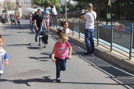 Un encierro infantil y exhibición de toreo ponen el acento taurino a las Fiestas de Gádor