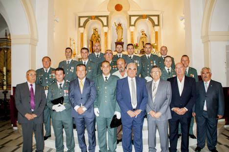La Guardia Civil de Carboneras celebra el día de su Patrona