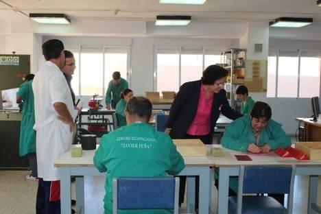 La Unidad de Estancia Diurna con Terapia Ocupacional Javier Peña atiende a 70 personas con discapacidad intelectual