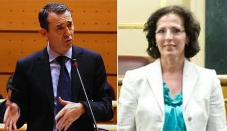 Los socialistas Pérez Navas y Gracia Fernández han sido los políticos almerienses más trabajadores de la legislatura en el Senado y el Congreso