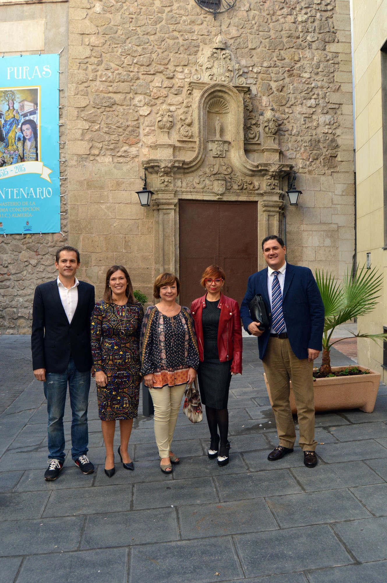 Almería celebrará el quinto centenario del Convento de Las Puras con conferencias, visitas y un concierto de música sacra